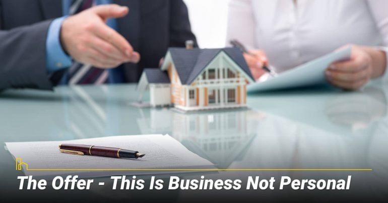 The Offer - This Is Business Not Personal
