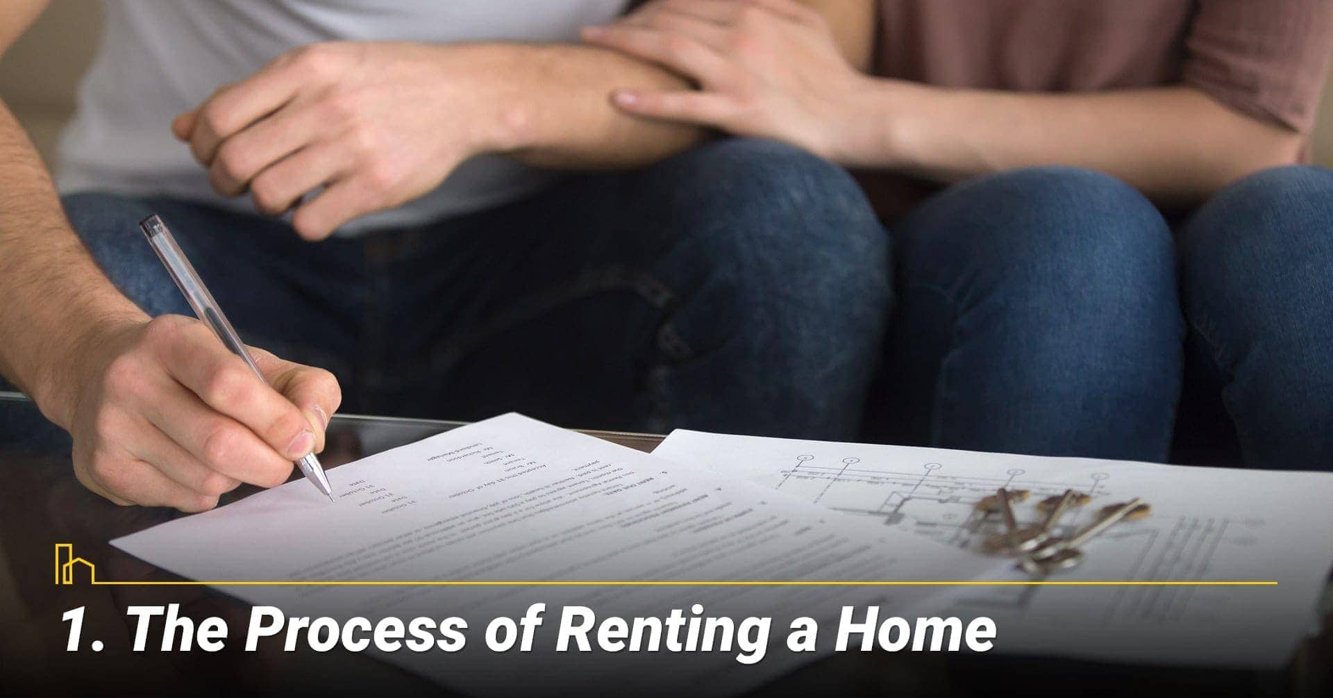 The Process of Renting a Home, steps to rent out your home