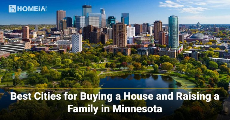 best cities for raising a family in Minnesota