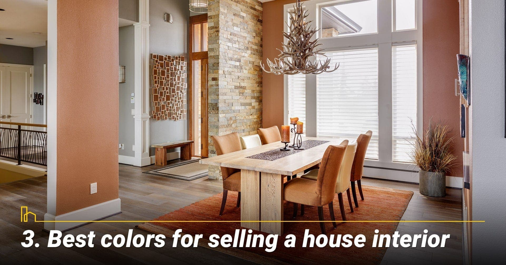 Best colors for selling a house interior