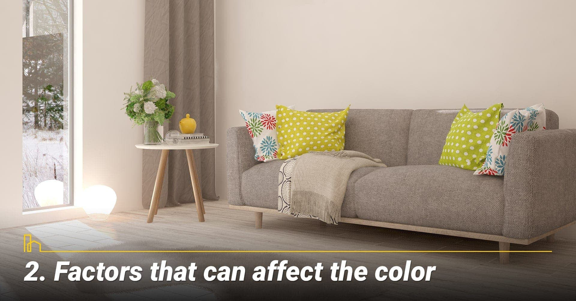 Factors that can affect the color