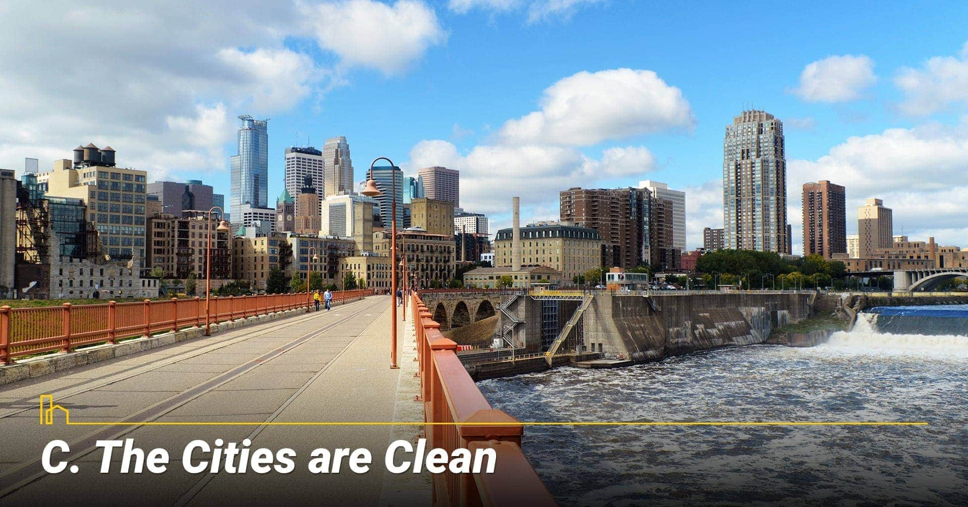 The Cities are Clean