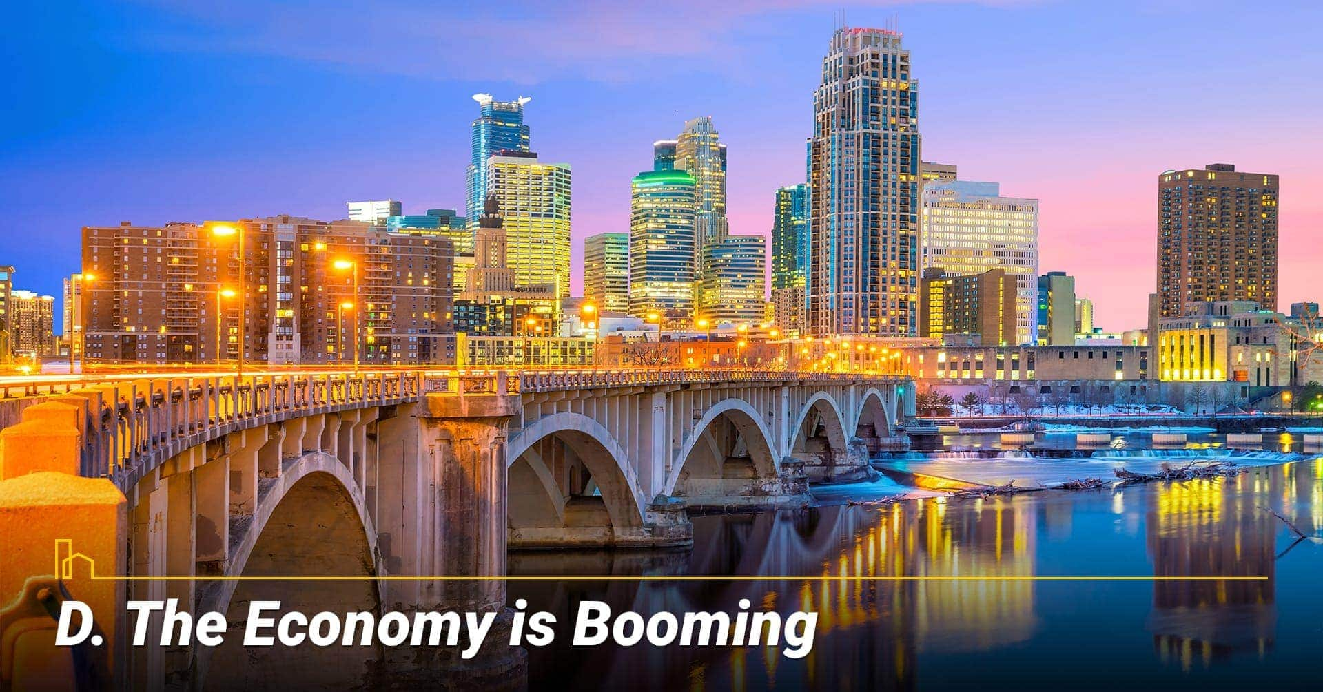 The Economy is Booming
