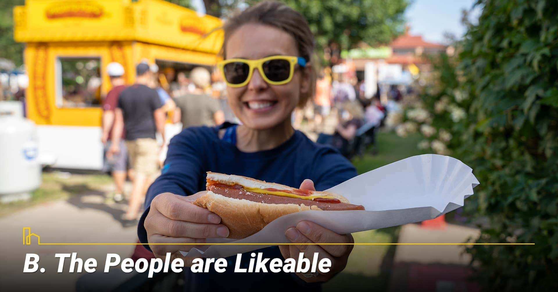 The People are Likeable