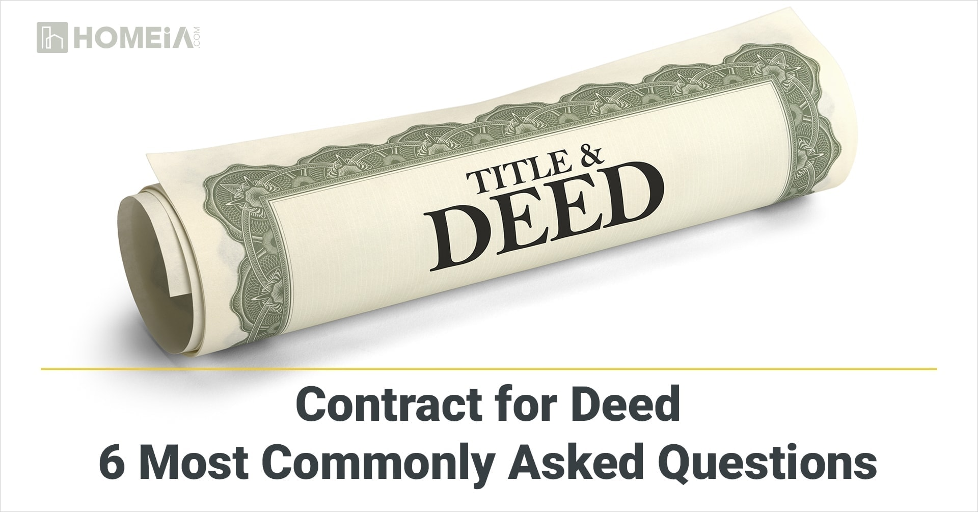 The Advantages and Disadvantages of a Contract for Deed: Most Common Questions