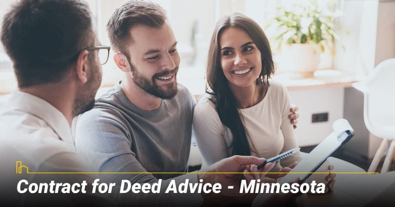 Contract for Deed Advice–Minnesota