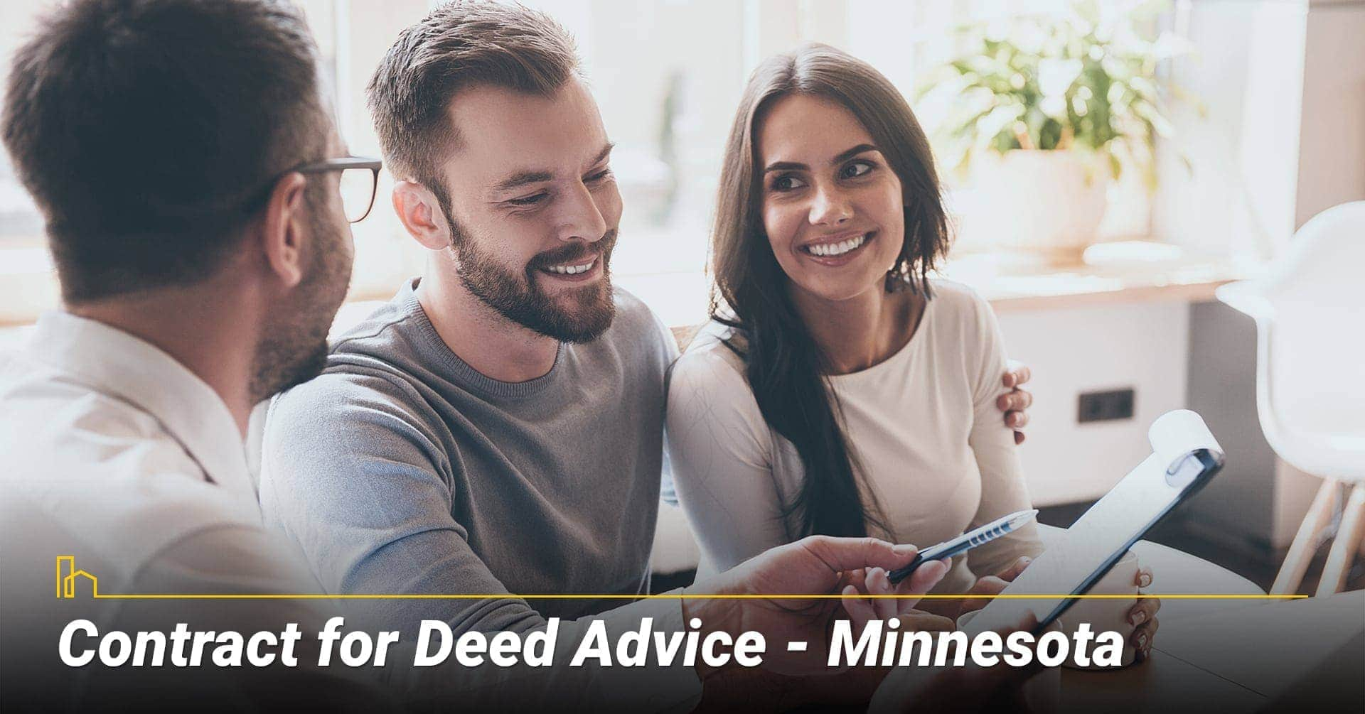 Contract for Deed Advice–Minnesota, best approaches to Contract for Deed in MN