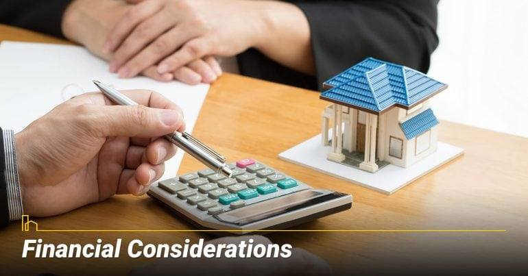 What Are the Financial Considerations? associated costs of a reverse mortgage