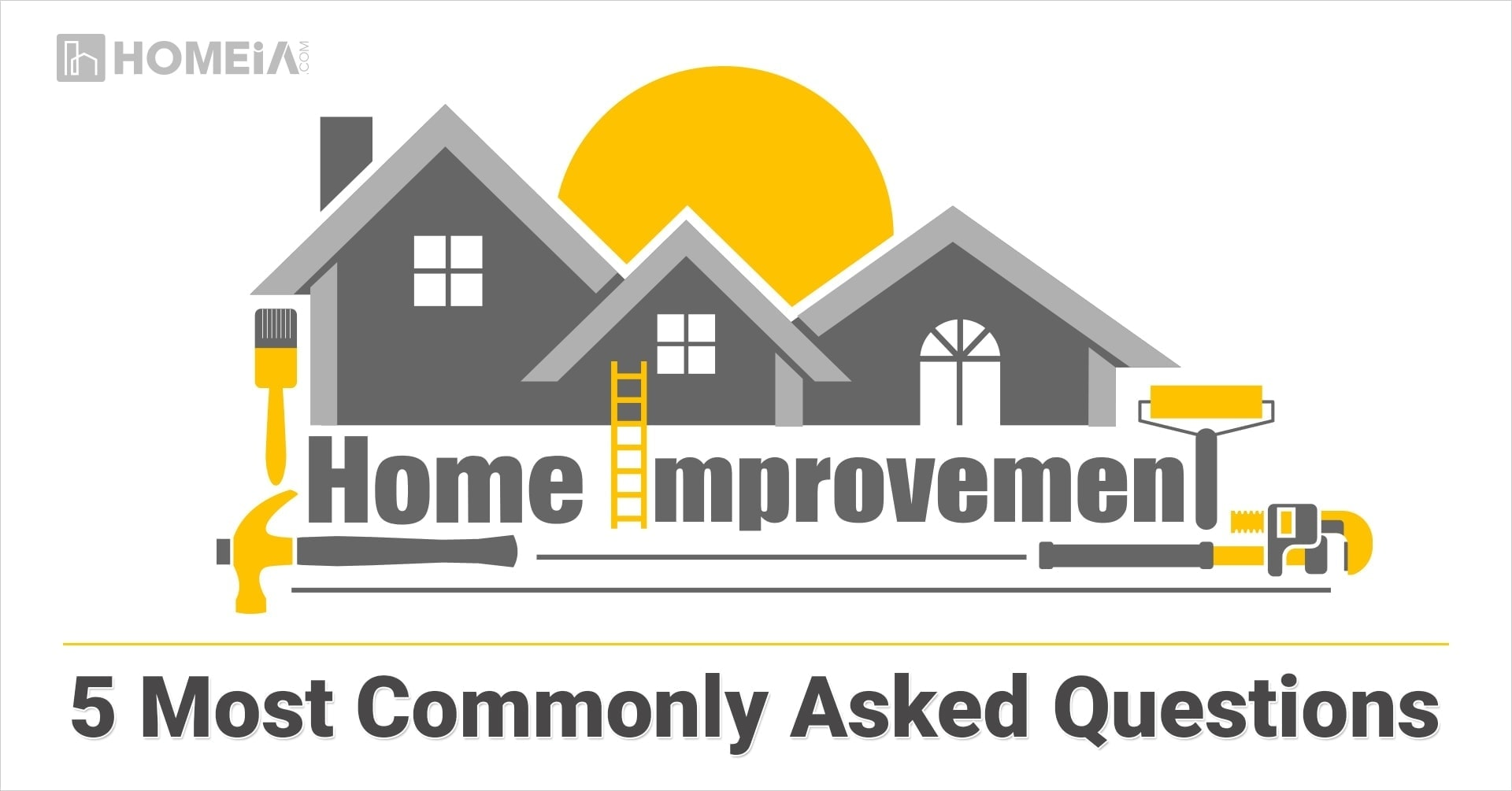 Home Improvement: 5 Most Commonly Asked Questions