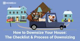 How to Downsize Your House: The Checklist & Process of Downsizing