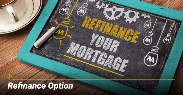 Is There a Refinance Option?