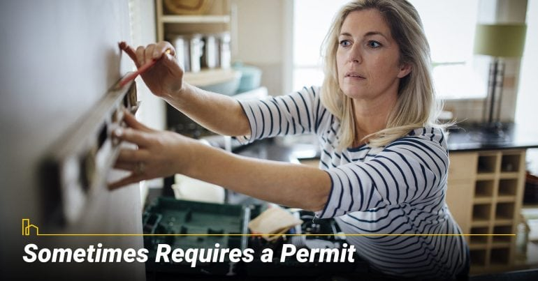 Sometimes Requires a Permit