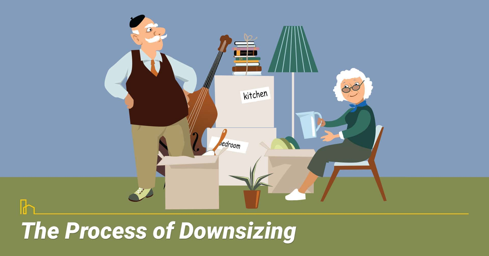 The Process of Downsizing, steps to downsizing