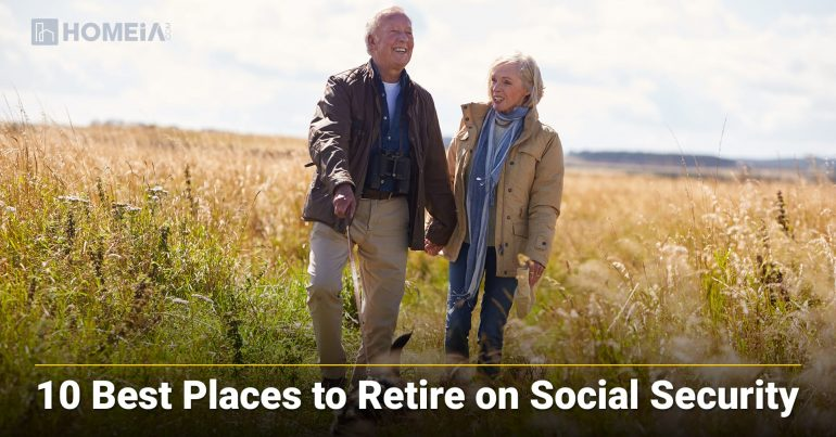 The Best and Most Affordable Places in the US to Retire on Social Security