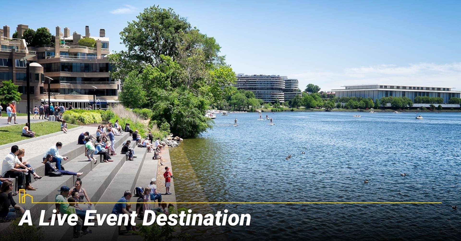 A Live Event Destination in Washington, DC