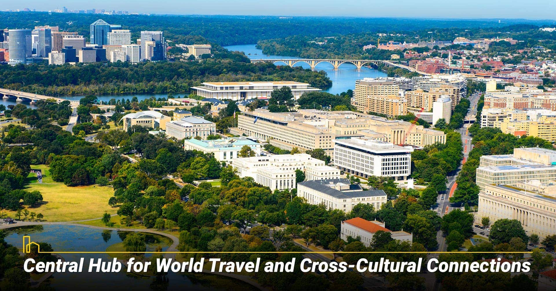Washington DC is a Central Hub for World Travel and Cross-Cultural Connections