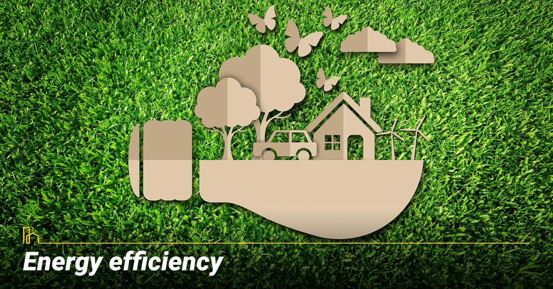 Energy efficiency, energy consumption of the property