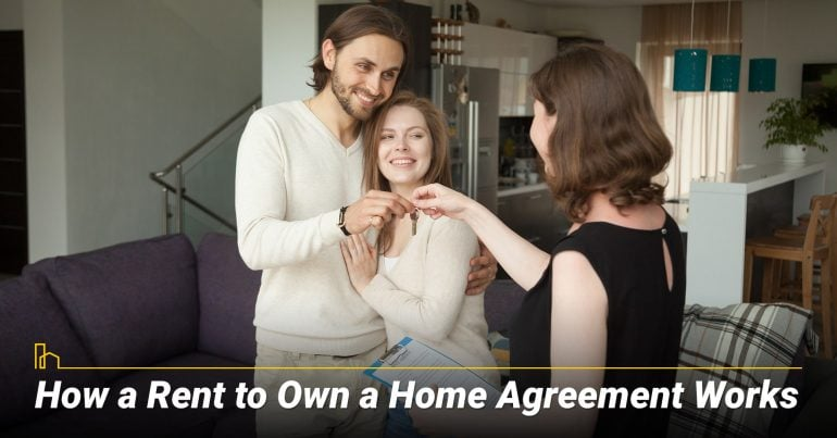 How a Rent to Own a Home Agreement Works