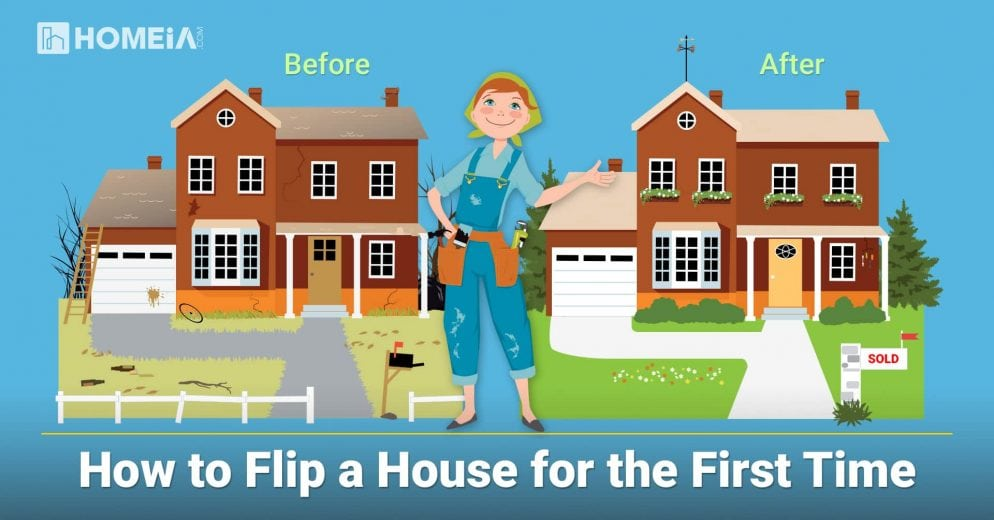 Flipping House Basics: 3 Steps to Flip a House for Sale