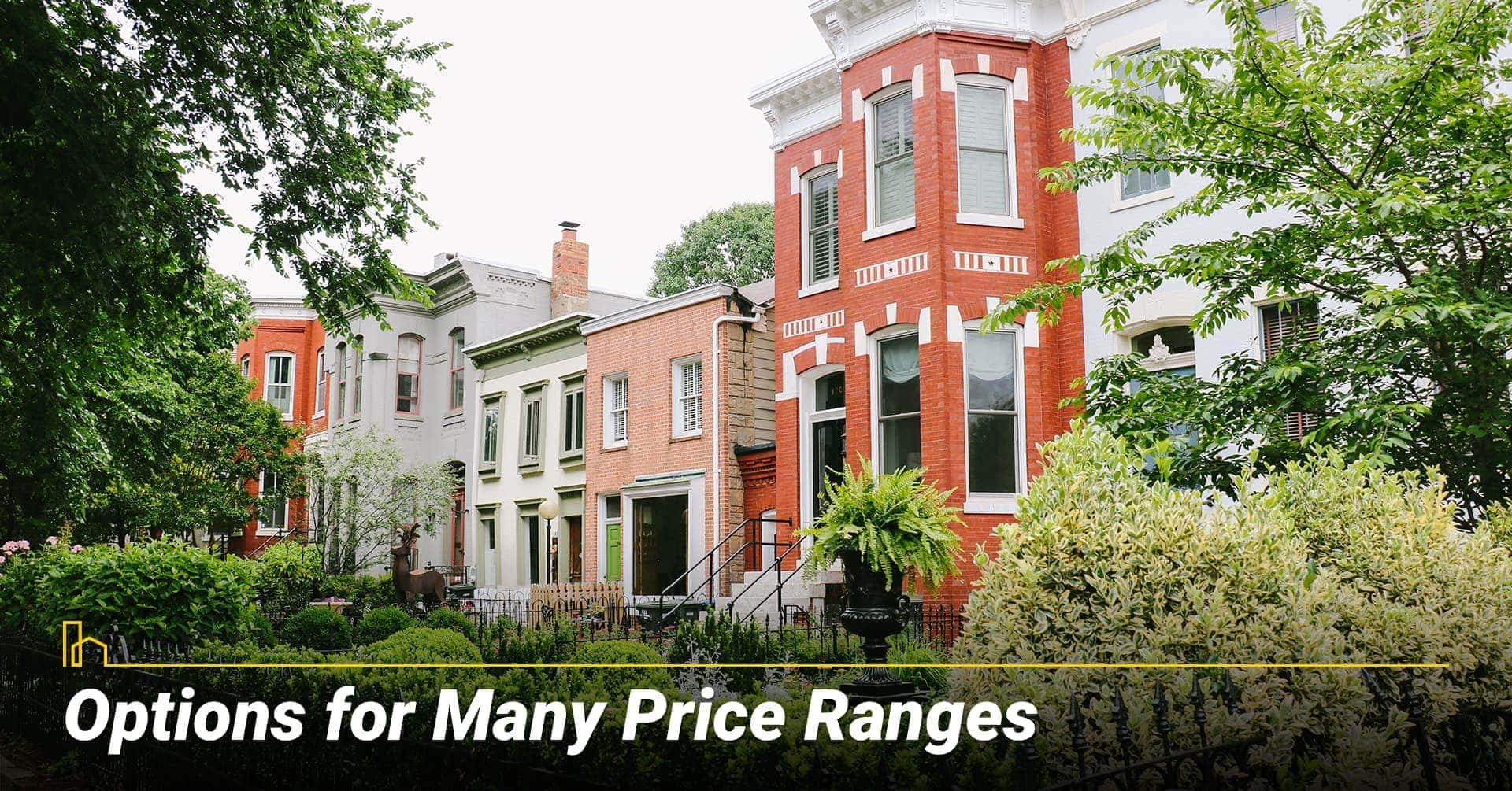 Options for Many Price Ranges in Washington, DC