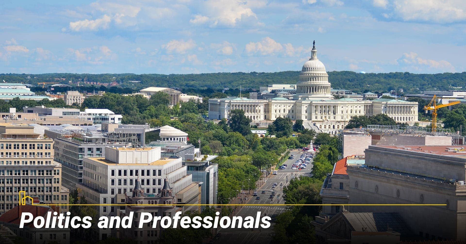 Politics and Professionals in Washington, DC