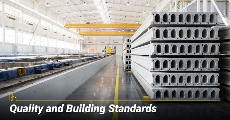 Quality and Building Standards