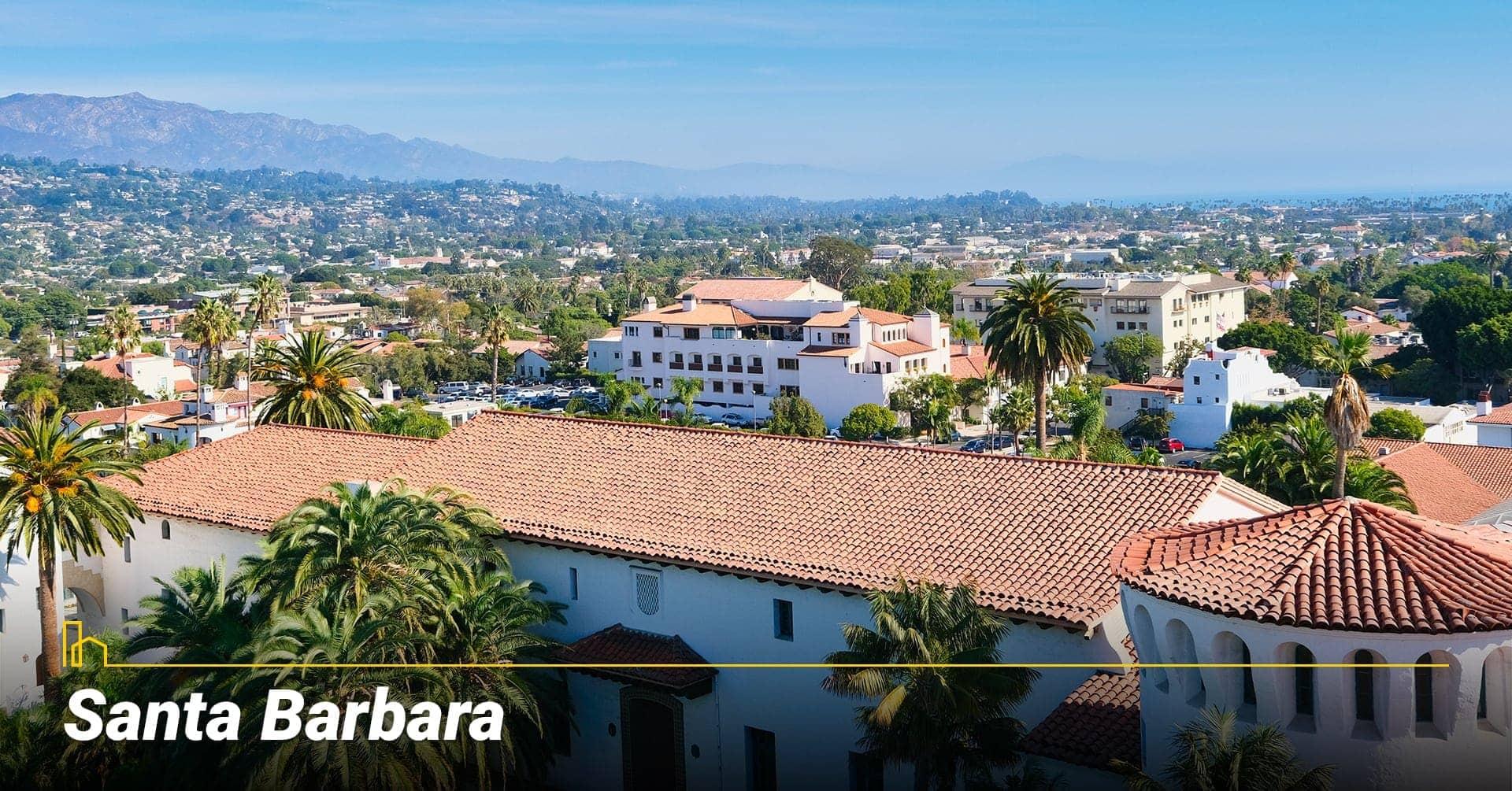 Santa Barbara southern California
