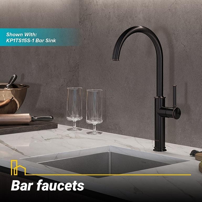 Bar faucets, prep faucets