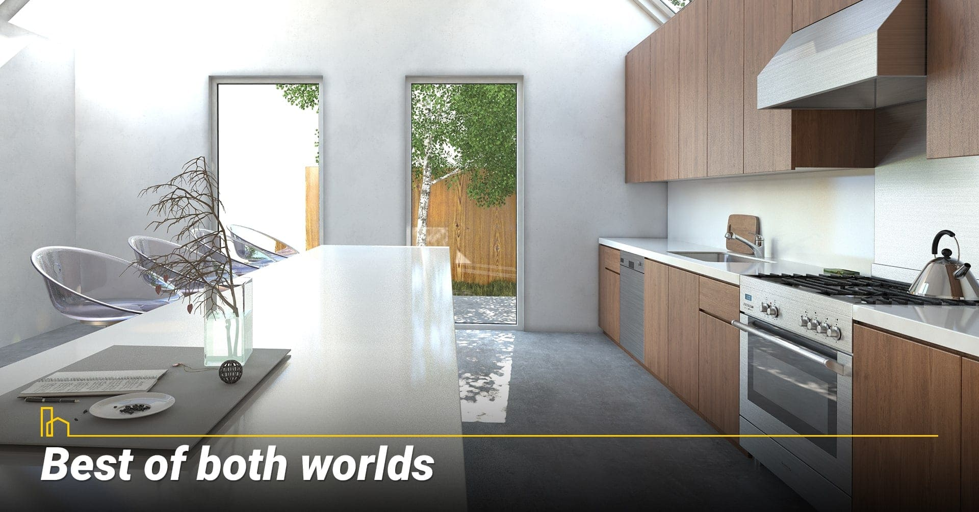 Best of both worlds, advantages of modular homes