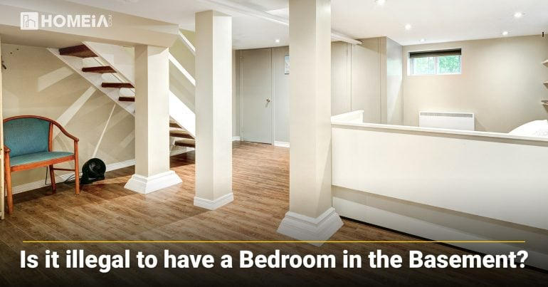 Is it illegal to Have a Bedroom in the Basement?
