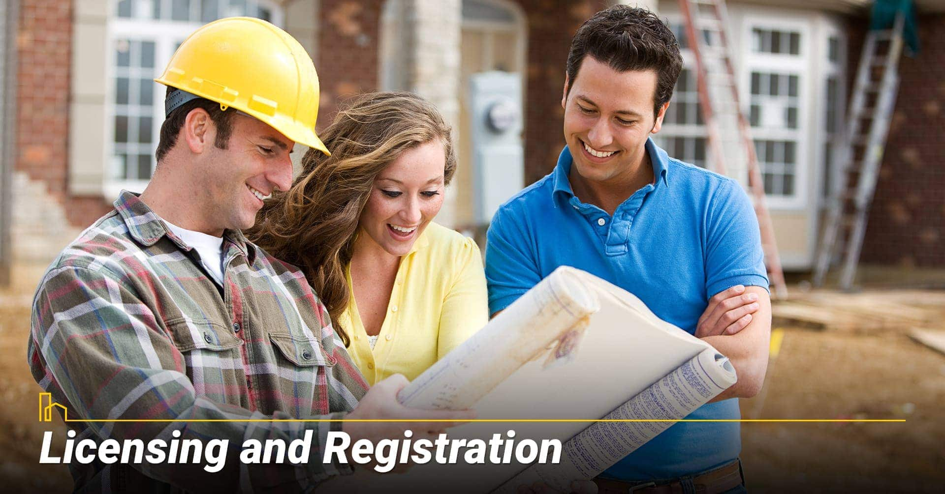 Licensing and Registration, licensed and registered contractors