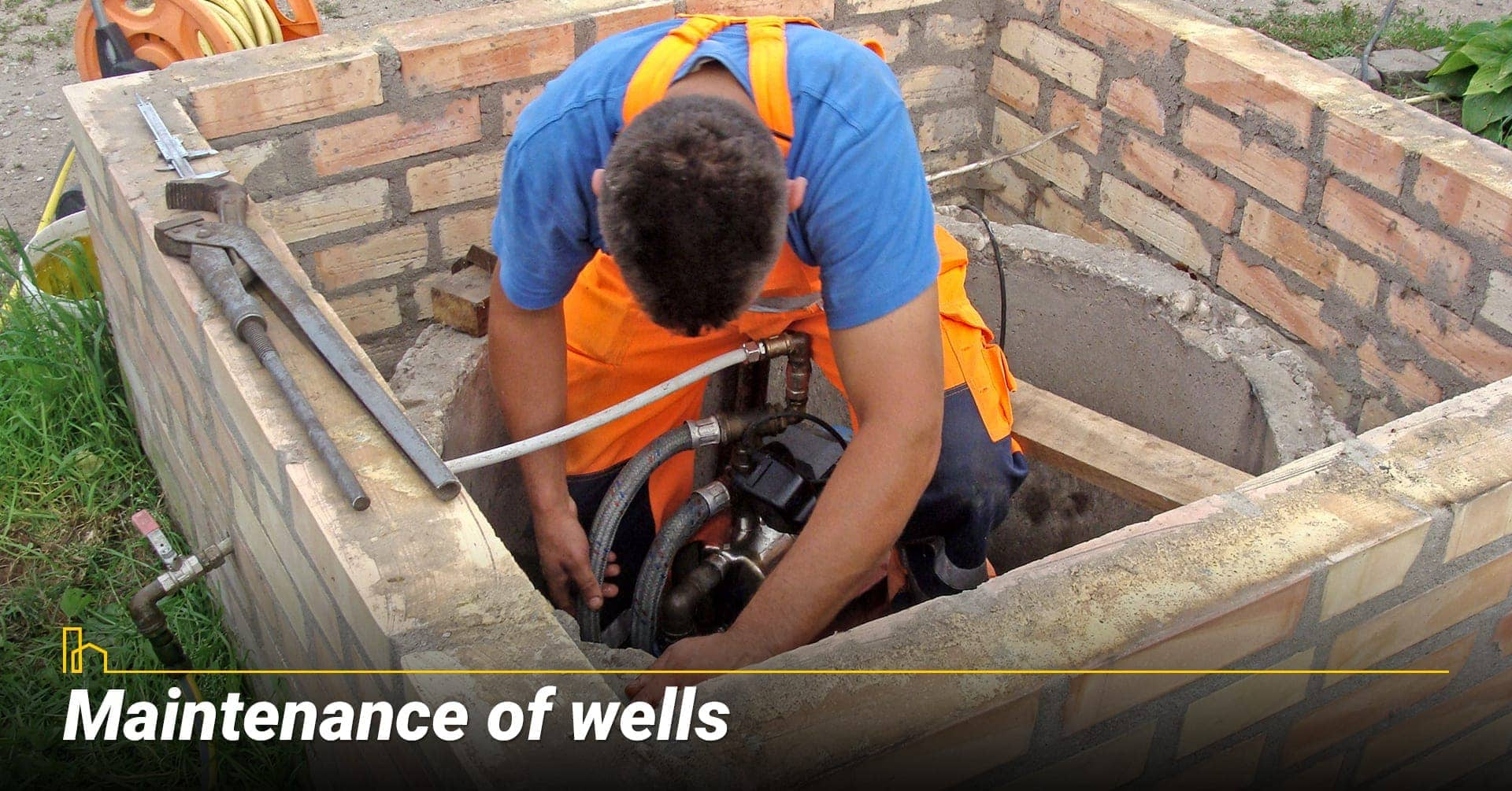 Maintenance of wells, keep wells in operation