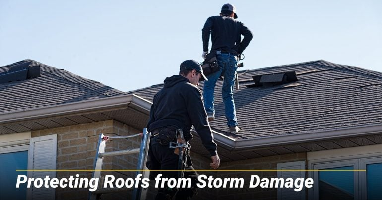 Protecting Roofs from Storm Damage