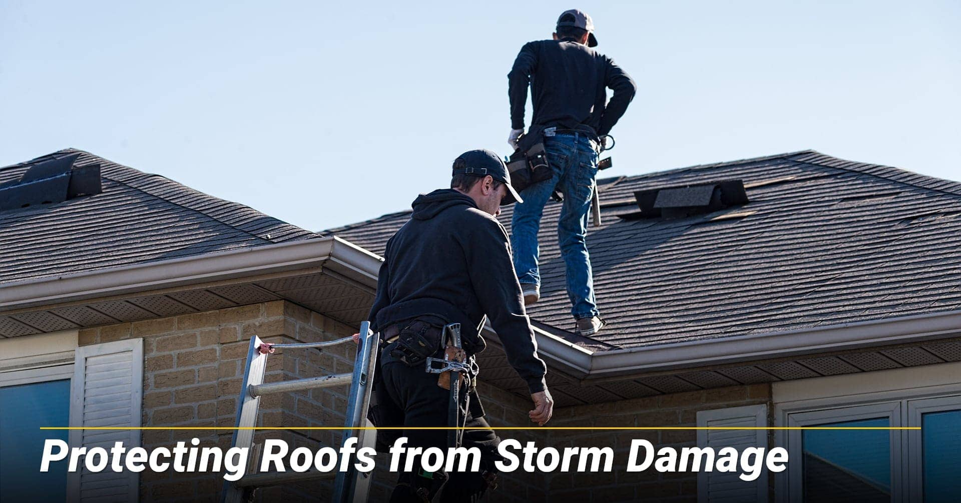 Protecting Roofs from Storm Damage, protect your roof