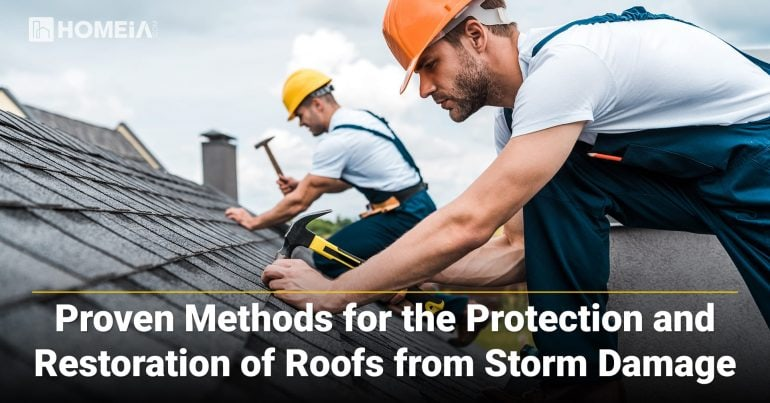 Proven Methods for the Protection and Restoration of Roofs from Storm Damage