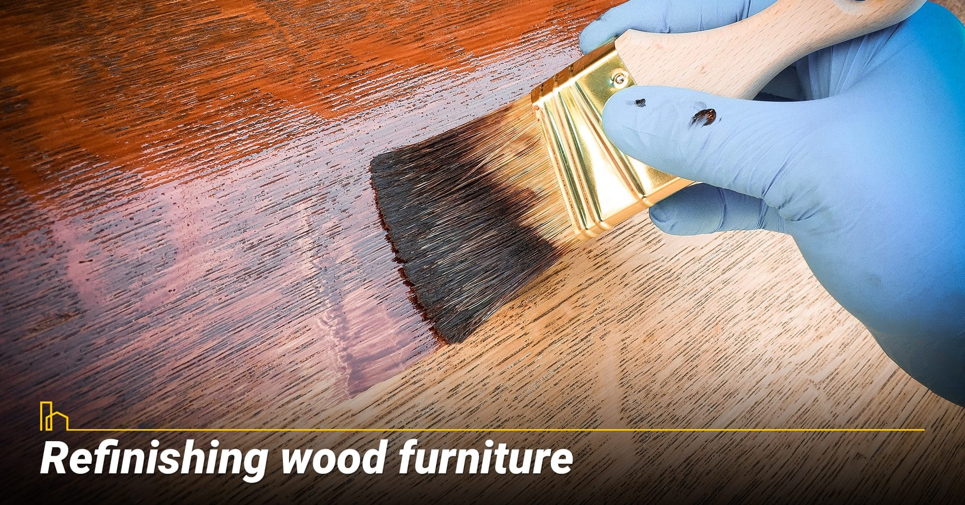 Refinishing wood furniture, give your furniture a new coat of paint