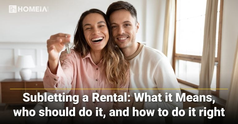 Subletting Apartment: What it means, How to do it right, and Who should do it