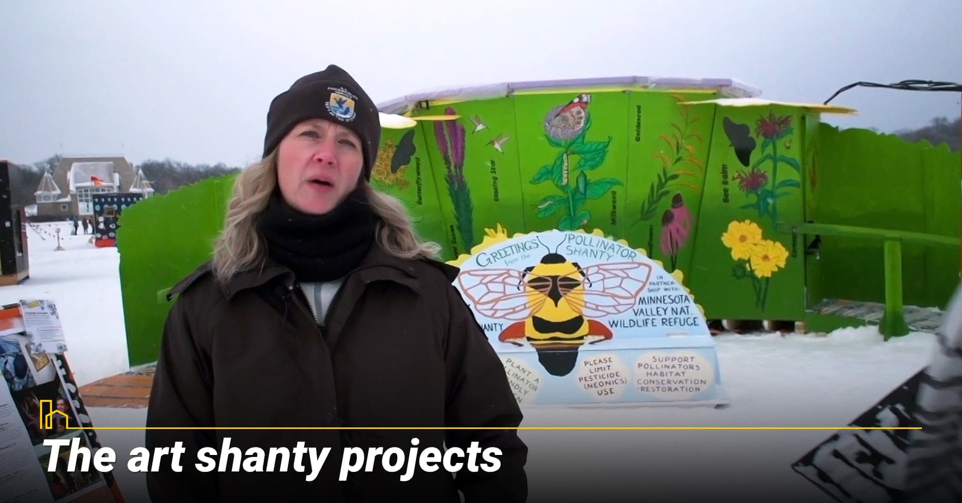 The art shanty projects, many art projects