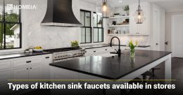 Types of Kitchen Sink Faucets Available in Stores