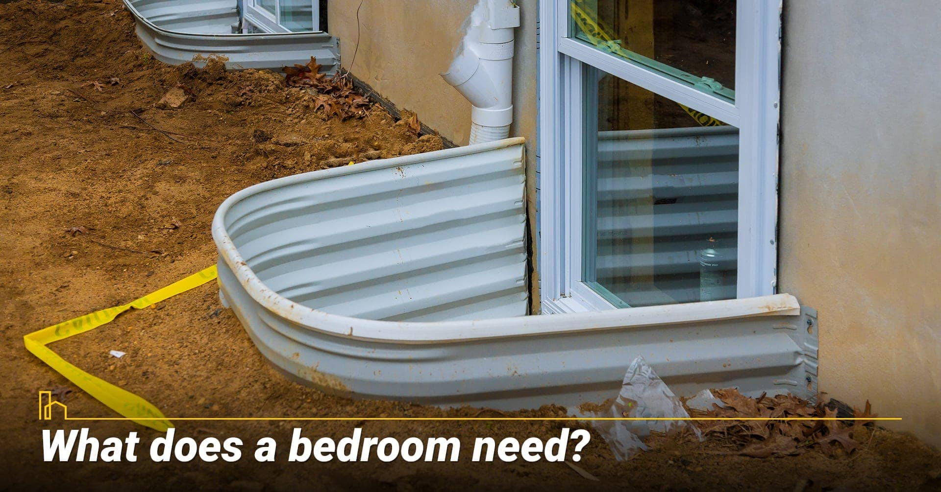 What does a bedroom need? things needed for a bedroom in the basement