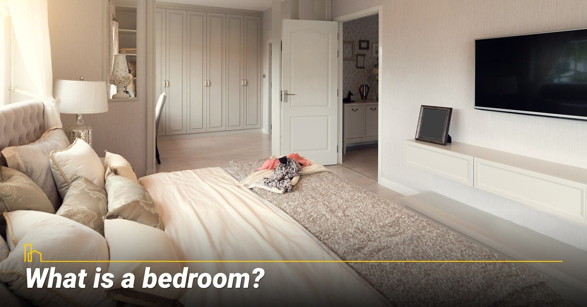 What is a bedroom? define a bedroom