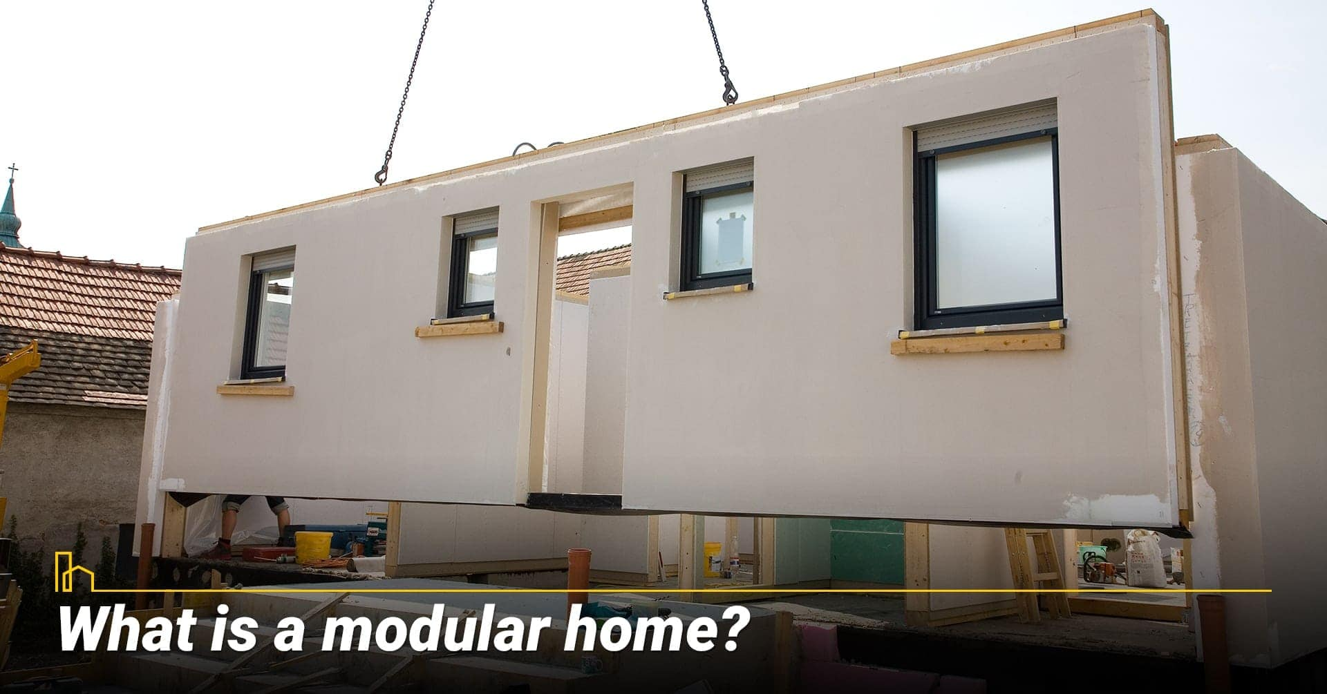 What is a modular home? Prefabrication home