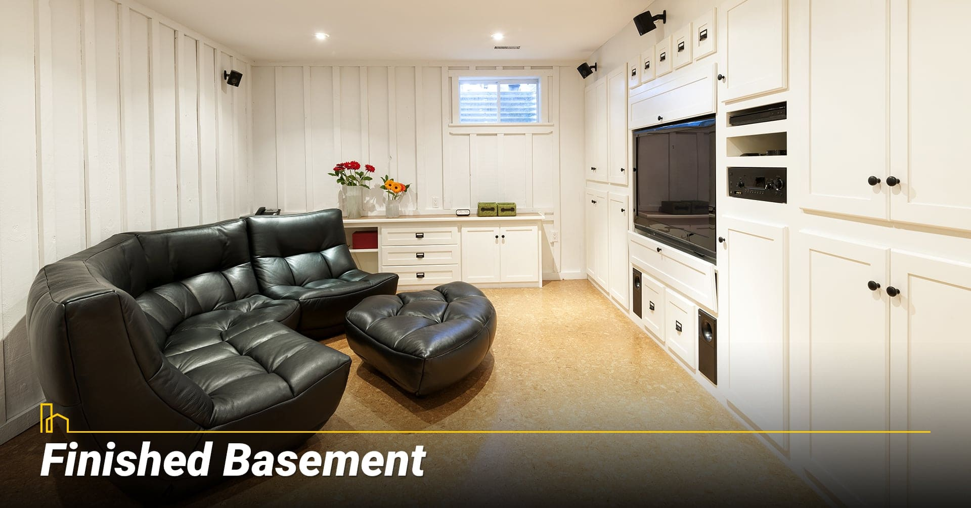Finished Basement, finished and decorate your basement