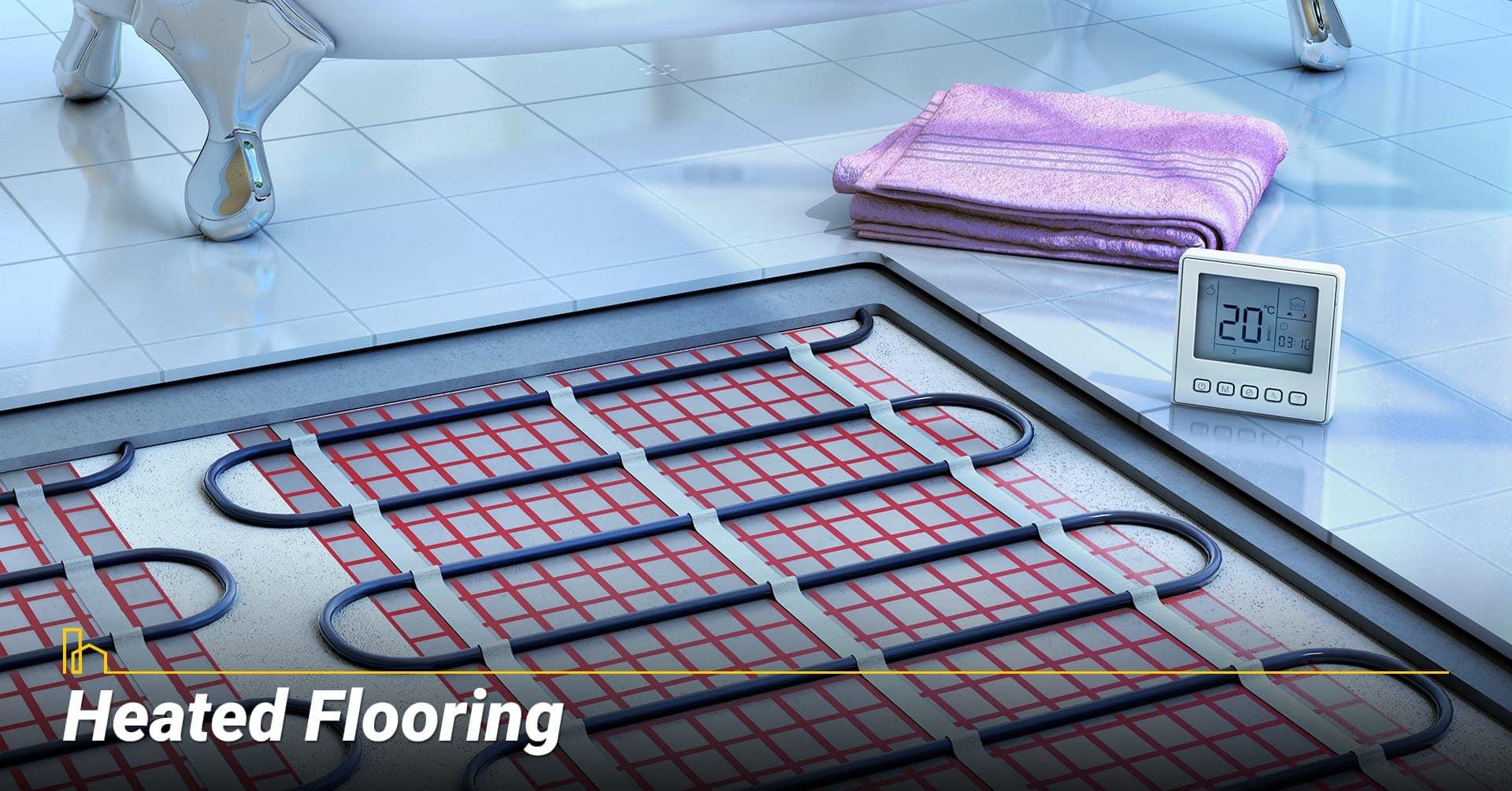 Heated Flooring, keep your floor warm