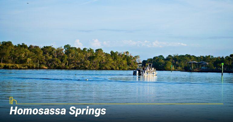 Homosassa Springs City in FL