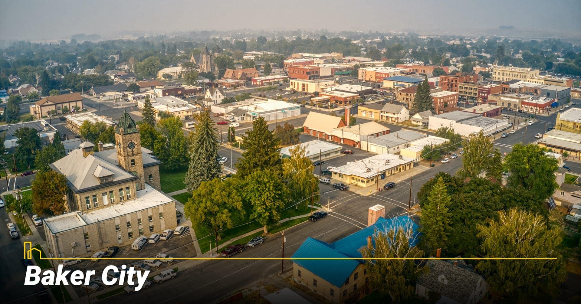 Baker City city in Oregon
