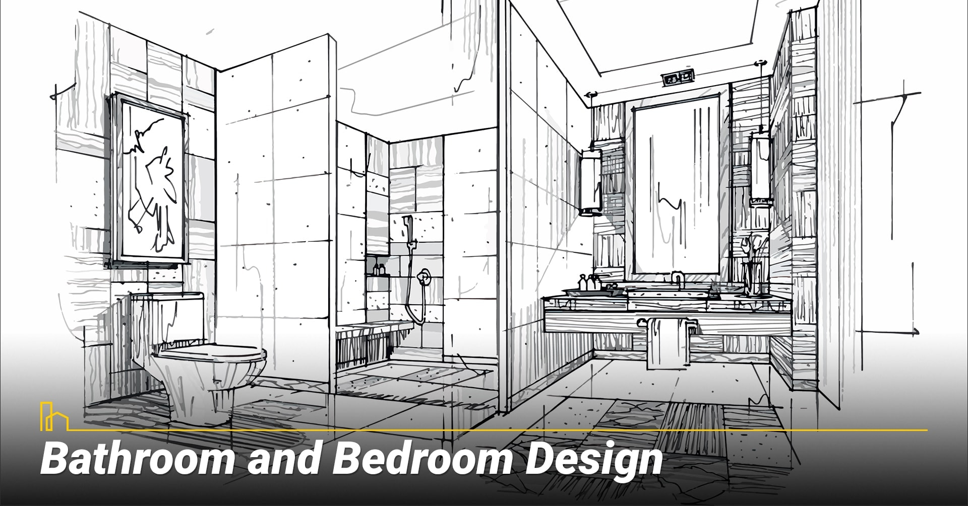 Bathroom and Bedroom Design, design your bathrooms and bedrooms