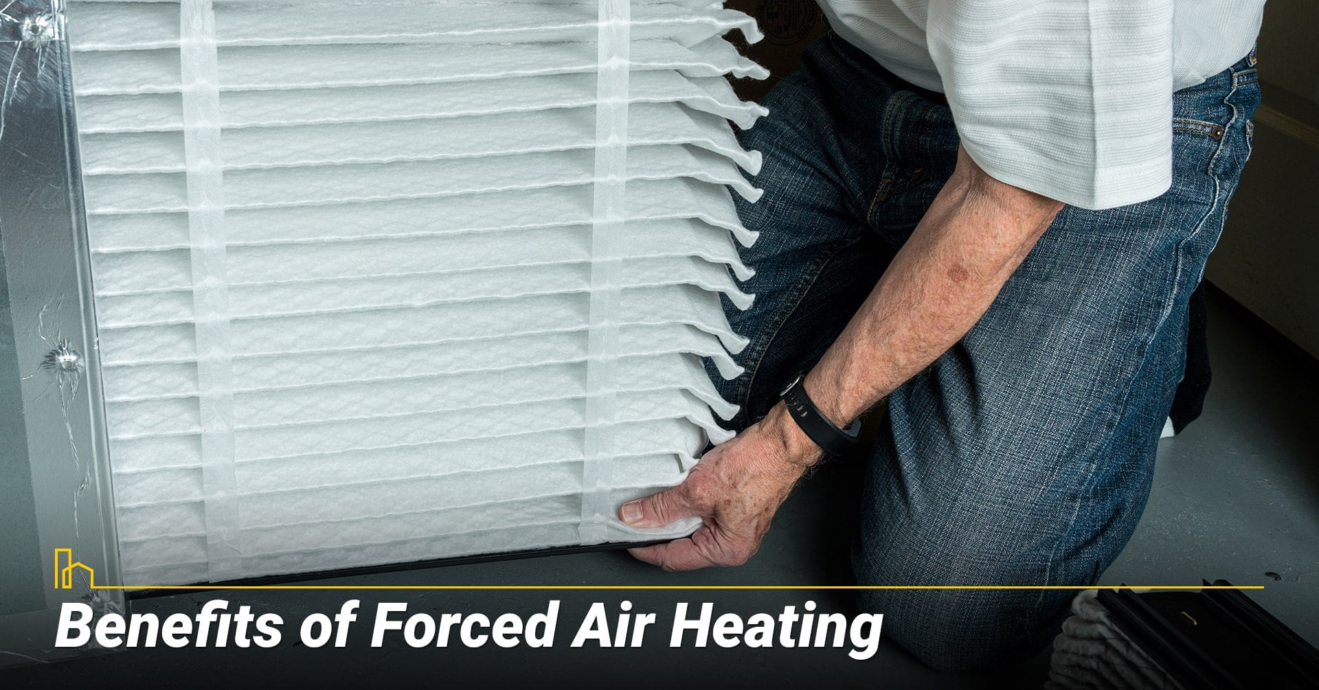 Benefits of Forced Air Heating, the upside of forced air system
