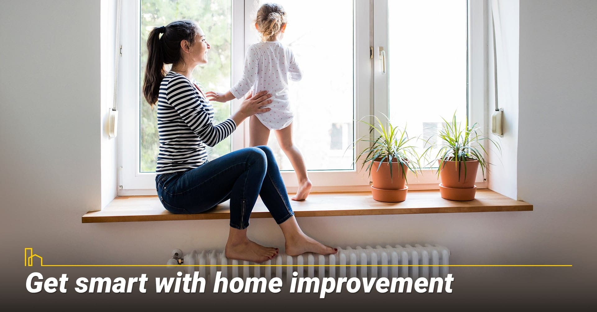 Get smart with home improvement, incorporate technology into your home improvement