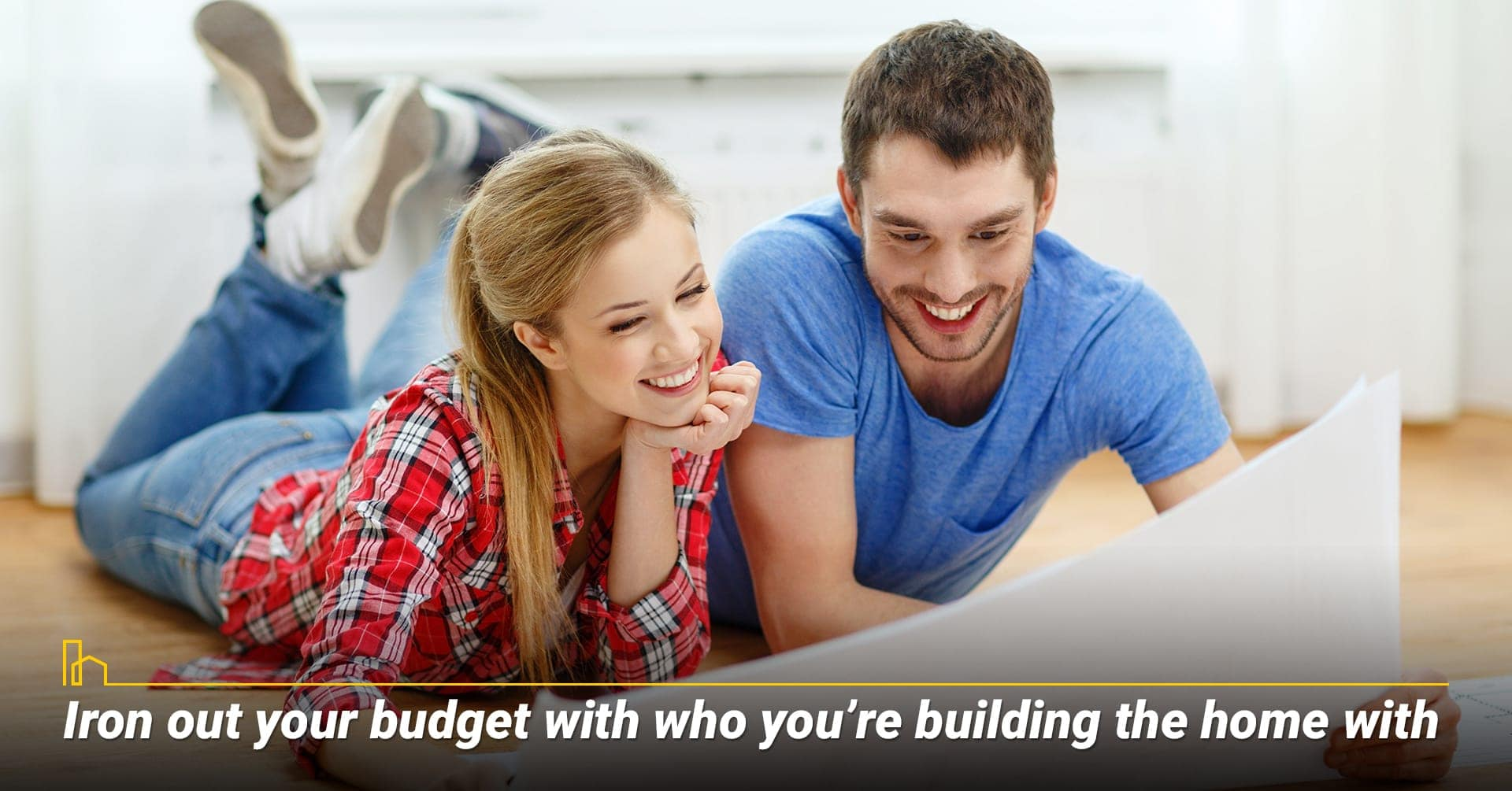 Iron out your budget, start by reviewing your budget